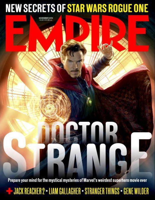Marvel Studios ha rilasciato i primi tre characters poster di Doctor Strange