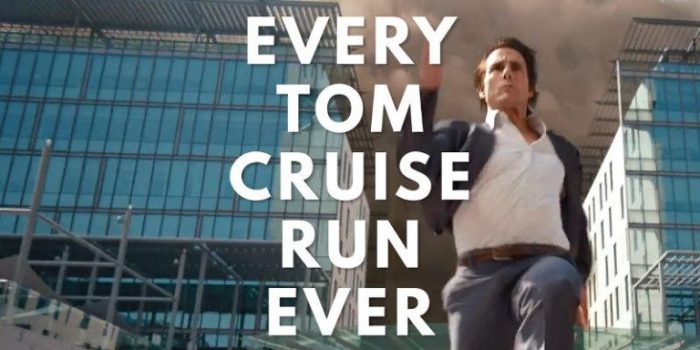 In un video super cut tutti i momenti in cui Tom Cruise ha corso nella sua carriera cinematografica