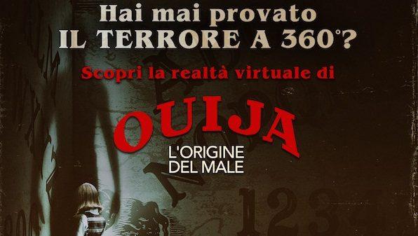 Il 15 e il 16 ottobre al Centro Commerciale Campania vivete un'esperienza terrificante con Ouija – L'origine del Male