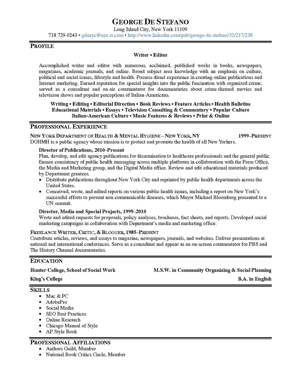 professional resume writers jacksonville nc