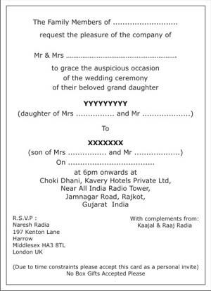 raas garba cards wordings india indian wedding invitation wordings