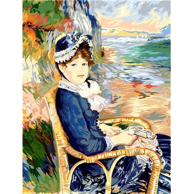 Canevas tableaux et tapisseries Dame à La Licorne