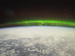The high altitude aurora as viewed by the ISS crew (NASA)