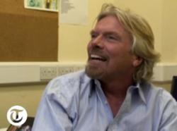 Telegraph interview still with Richard Branson (credit: Telegraph.co.uk)