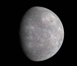 True color image of Mercury (MESSENGER)