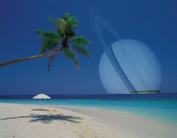 Tropical Saturn.  Image credit:  Columbia University