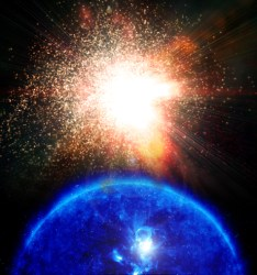 Could a solar flare destroy the Earth in 2012?