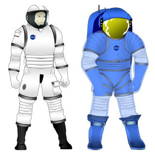 Proposed spacesuits from Oceaneering, Inc. Image: NASA