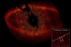 Hubbles view of the exoplanet Fomalhaut b (NASA/HST)
