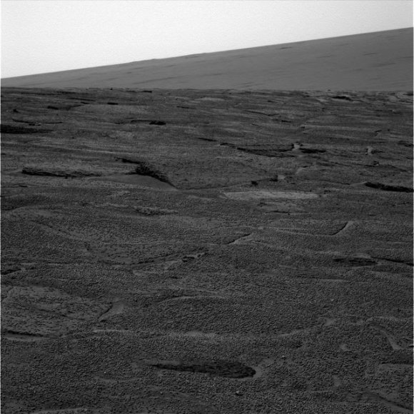 Opportunity rover image from Sol 111.  Credit: NASA/JPL