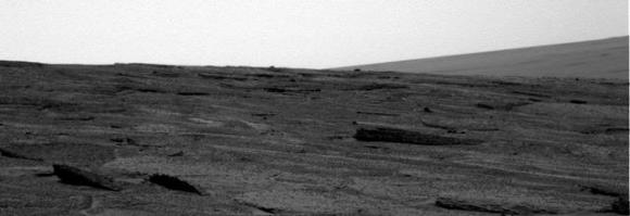 More tilted rocks.  Credit: NASA/JPL/Cornell