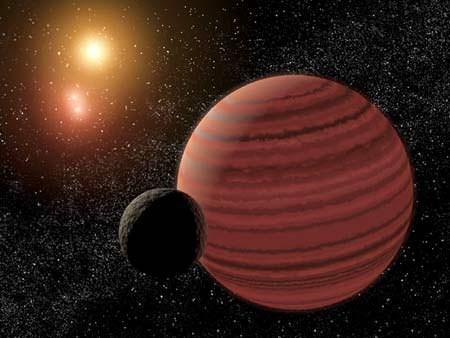 Artist's impression of a brown dwarf. Image credit: NASA/JPL