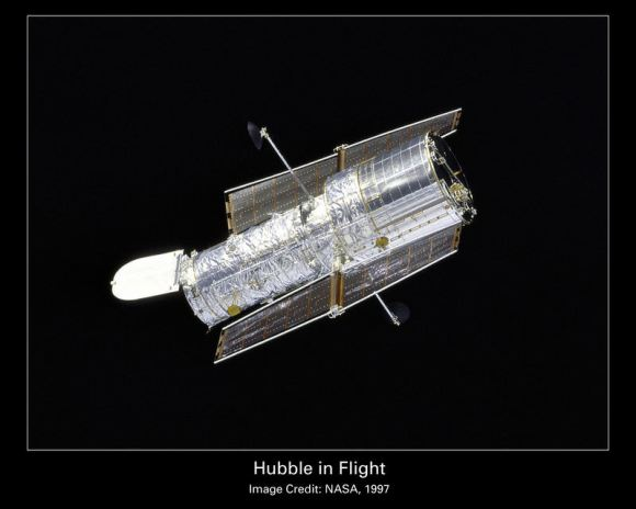 Hubble Space Telescope.  Credit: NASA