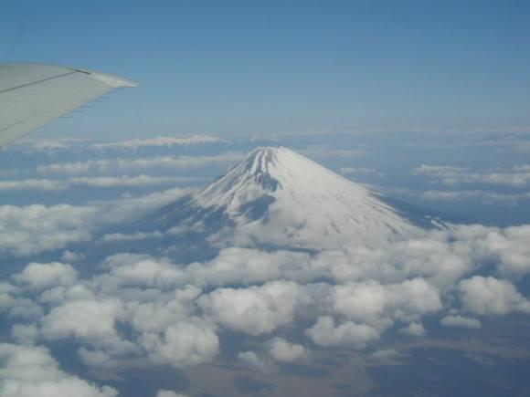 Mount Fuji - a composite volcano