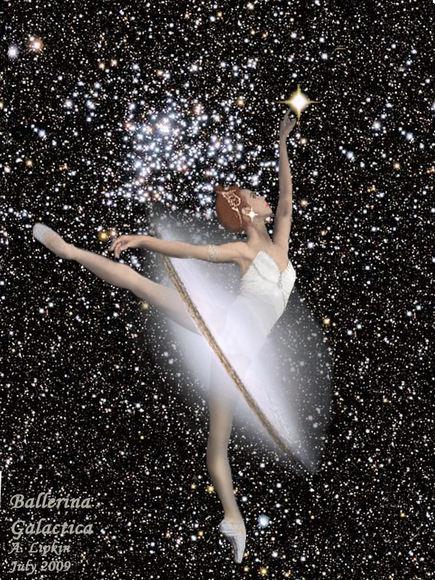 Ballerina Galactica.  Credit:  Alan Lipkin