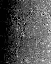 Caloris Basin on Mercury
