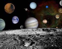 Solar system montage. Credit: NASA