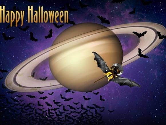 Happy Halloween from the Cassini team