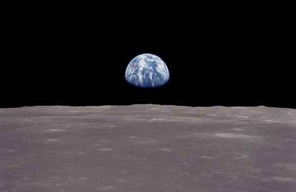 A picture of Earth taken by Apollo 11 astronauts. Credit: NASA