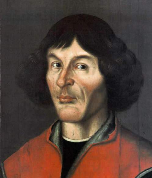 Nicolaus Copernicus portrait from Town Hall in Torun (Thorn), 1580. Credit: frombork.art.pl