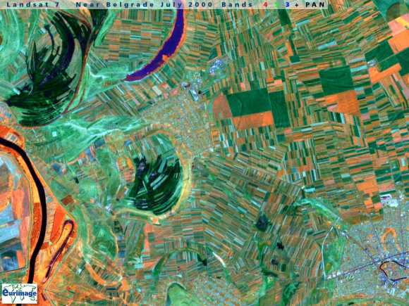 A Landsat image that could be artwork.