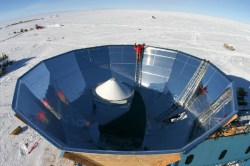 The QUaD experiment, located at the South Pole, allowed researchers to measure the polarization of the CMB with very high precision. Image Credit: Sarah Church