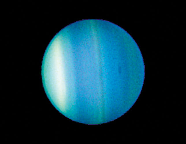 ' ' from the web at 'http://i0.wp.com/www.universetoday.com/wp-content/uploads/2010/06/Hubbles-Uranus.jpg'
