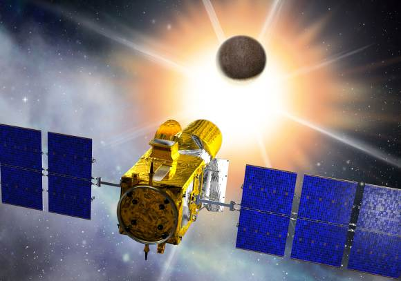 The COROT spacecraft. Credits: CNES/D. Ducros