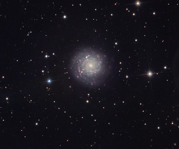 NGC 1058. Image credit: Bob Ferguson and Richard Desruisseau/Adam Block/NOAO/AURA/NSF