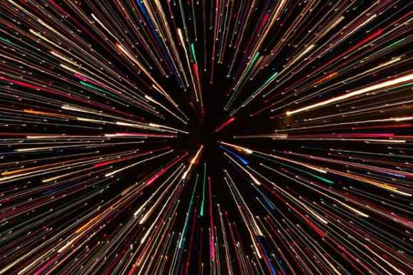 What would you see at the speed of light/