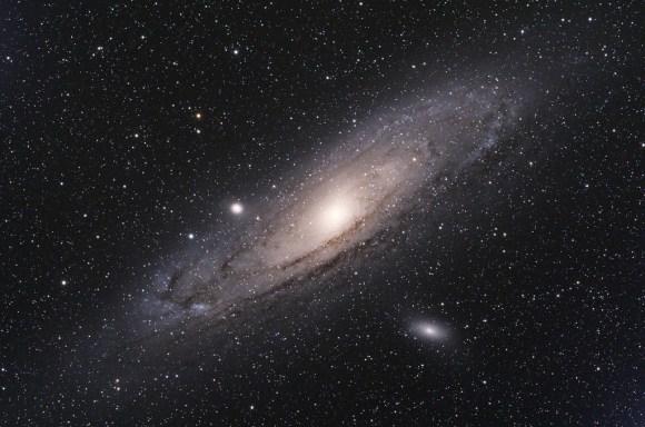 Astrophoto: Andromeda Galaxy by Fabio Bortoli