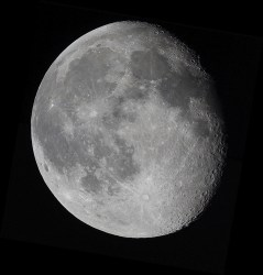Astrophoto: The Moon by Logan Mancuso