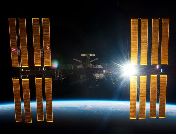 The TDRS satellites help NASA stay in touch with the International Space Station. Credit: NASA