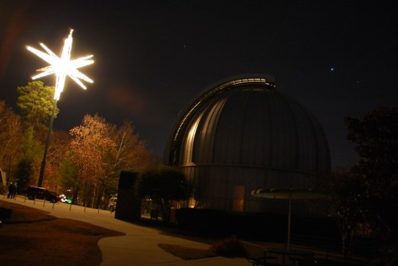 Does your observatories' night sky look like this? (Photo by Author).