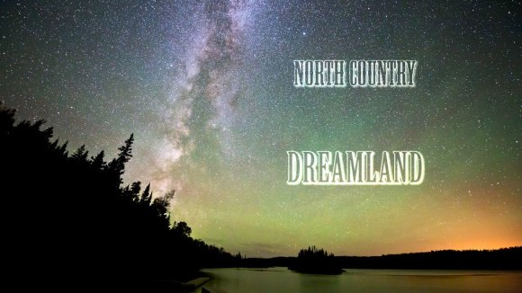 'North Country Dreamland' -a northern Michigan dark sky exposition. Credit: Shawn Malone.