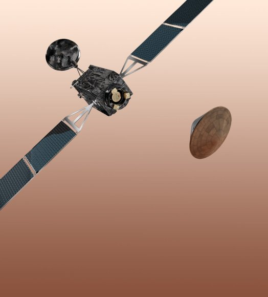 The 2016 ExoMars Trace Gas Orbiter will carry and deploy the Entry, Descent and Landing Demonstrator Mo