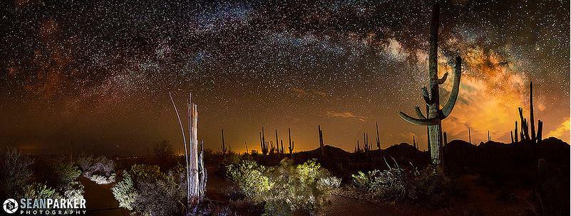 3d Universe Live Wallpaper Astrophotos The Galactic Desert Universe Today