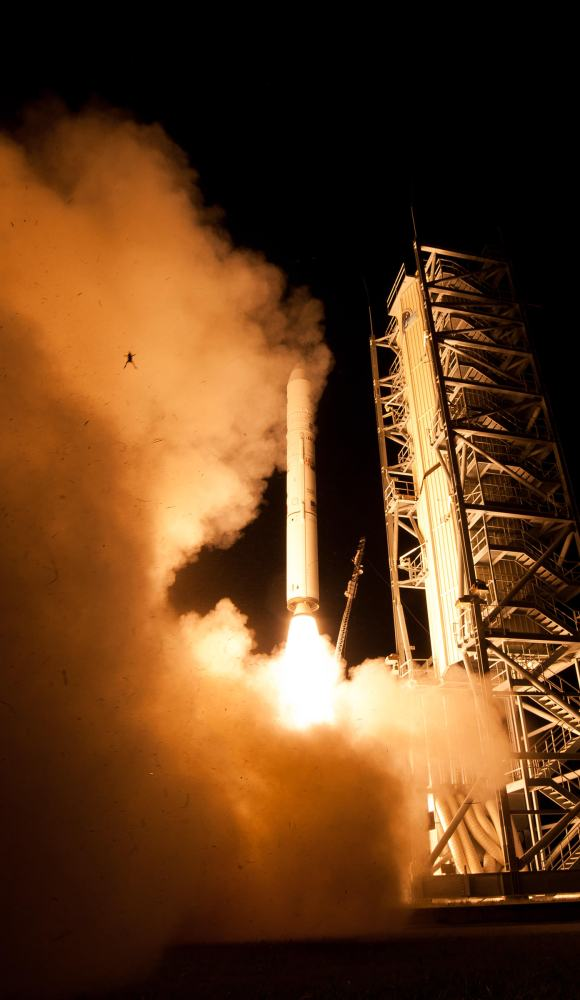 An unfortunate frog at the launch of LADEE from the Wallops Island Flight Facility in Virginia on September 6, 2013. Credit NASA/Wallops/Mid-Atlantic Regional Spaceport