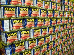 Wall of SPAM. Photo Freezelight/Flickr