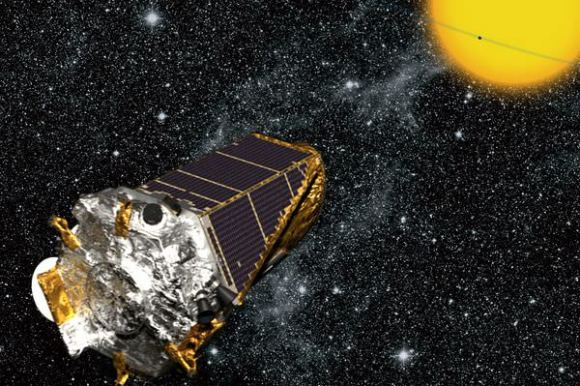 Illustration of the Kepler spacecraft (NASA/Kepler mission/Wendy Stenzel)