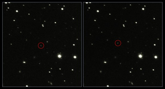 ESA's Gaia spacecraft as seen by the VLT (Credit: ESO)