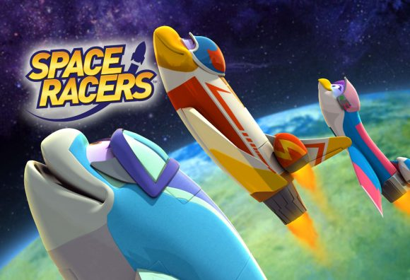 A still from Space Racers, a half-hour preschool series premiering in 2014. Credit: SpaceRacers.org