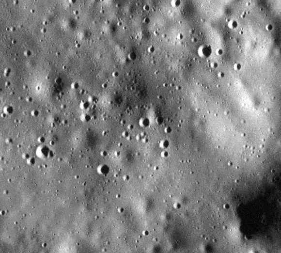 One of the highest-resolution images of Mercury's surface ever acquired.