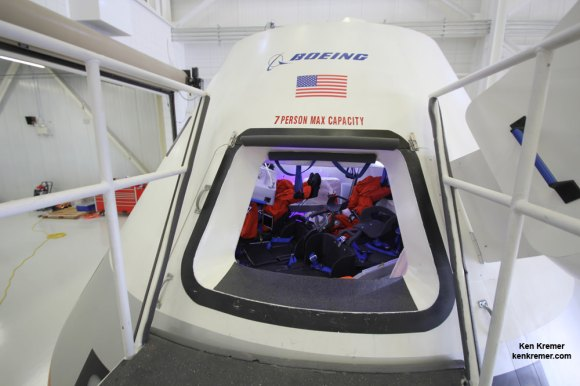 Hatch opening to Boeing�