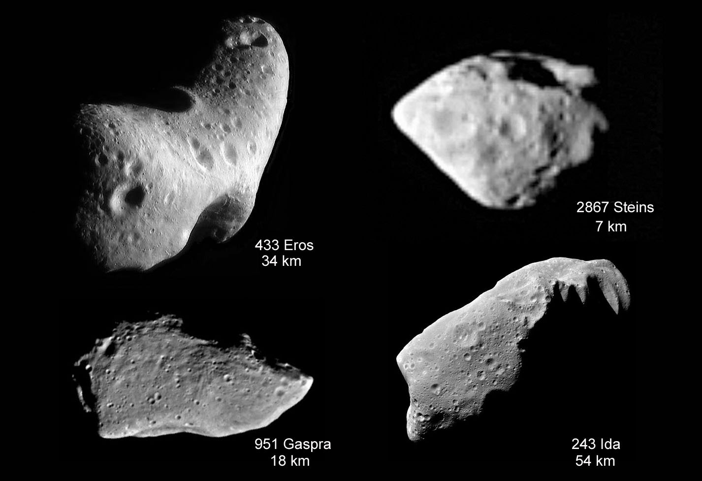 where did asteroids come from - photo #43
