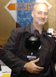 David Brin- Space scientist, futurist consultant, and science fiction writer (credit: Glogger)