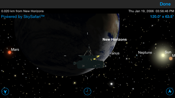 A view of Pluto Safari on an iPhone. Image via Simulation Curriculum.