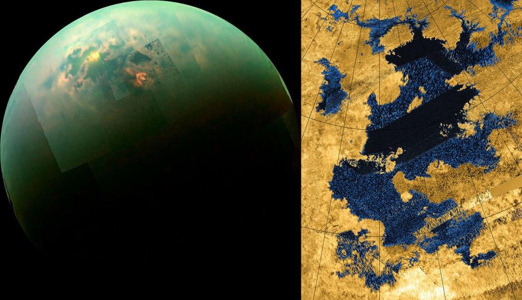 The seas of Titan