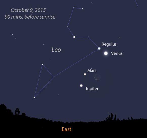 Lune et Venus au petit matin du 10/12/2012 Conj-Oct9