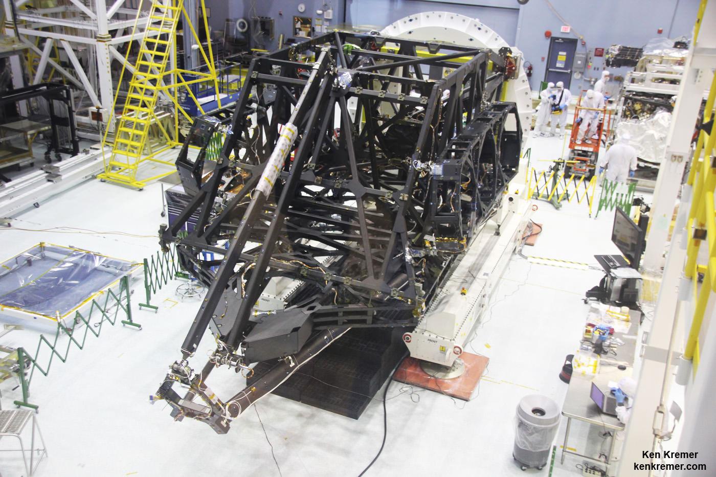 Nasa Webb Telescope Construction Leaps Forward With